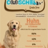 Hundefutter Huhn, getreidefrei, für ausgewachsene Hunde
